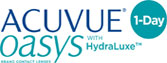 ACUVUE OASYS Contact Lenses 1-Day with HydraLuxe